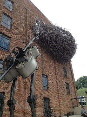 American Visionary Art Museum: Bird and nest