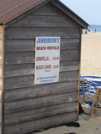 Jenkinson's Boardwalk : rentals 2013