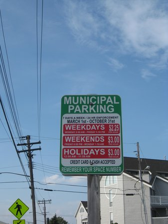 Point Pleasant Beach: parking 2013
