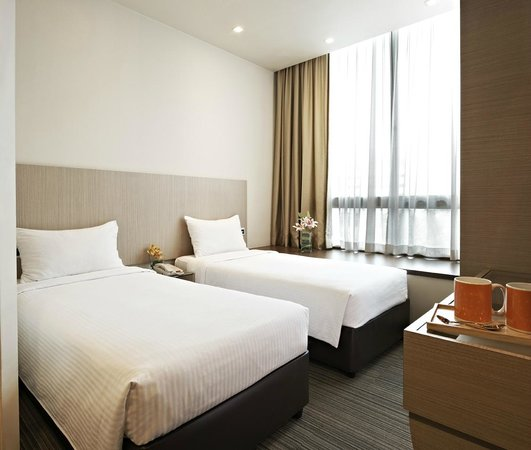 Aqueen Hotel Lavender: Standard Twin Room