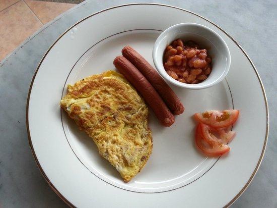 Jerejak Rainforest Resort : Horrible Substandard Breakfast