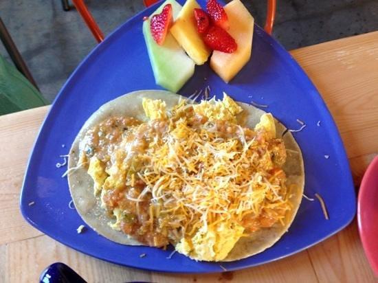 Park Cafe: huevos rancheros