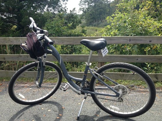 Atlantic cycles: fuji Bike, very comfortable to ride
