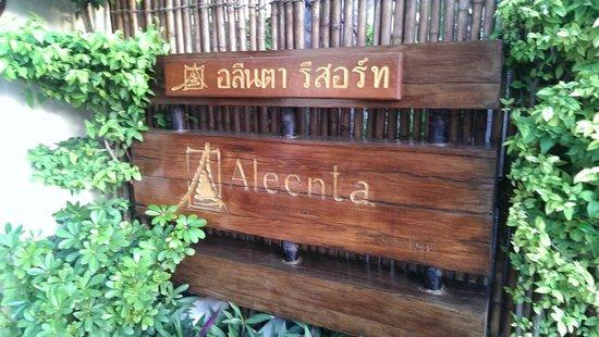 Aleenta Hua Hin Resort & Spa: Door Front