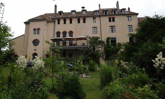 R ckfront mit fr hst cksterrasse picture of hotel le sauvage besancon tr - Hotel le sauvage besancon ...