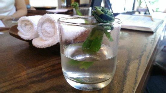 Aleenta Hua Hin Resort & Spa: Welcome Drinks