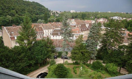 Hôtel Le Sauvage : Ausblick über die Altstadt