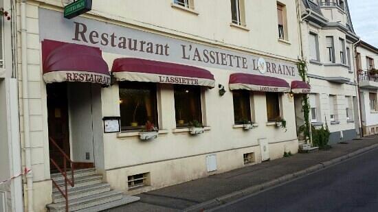 L'Assiette Lorraine: entrée du restaurant