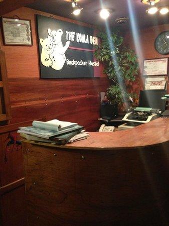 Hostal Koala Den : Main reception