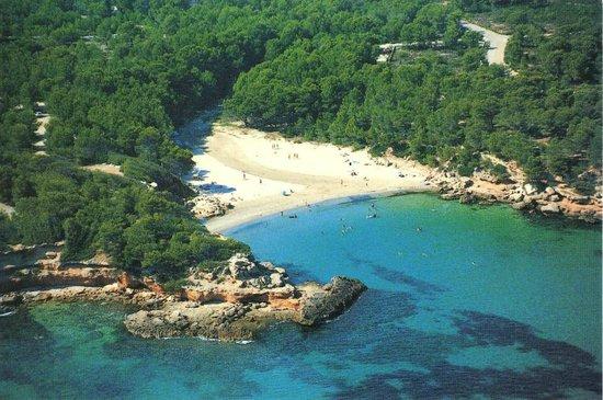 L'Ampolla, Spagna: cala muy cerca que esta en ametlla de mar