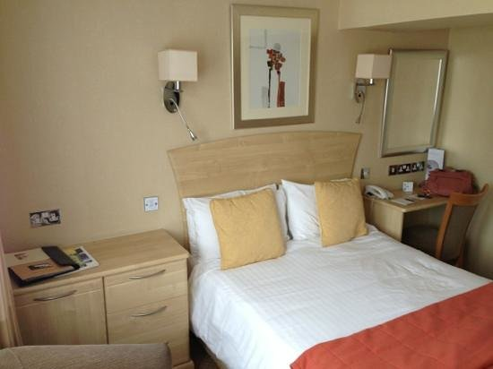 The Devon Hotel: double bed