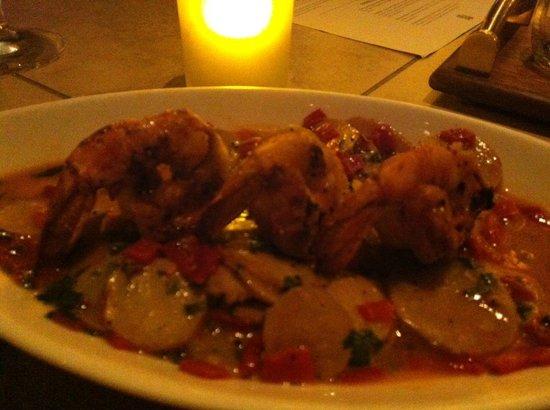 La Cave: shrimp