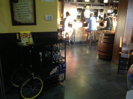 Bocanegra Artesanal Beer Restaurant: Entrada