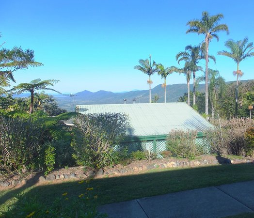 Eungella Chalet: view from the cottages