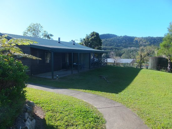 Eungella Chalet: the cottages