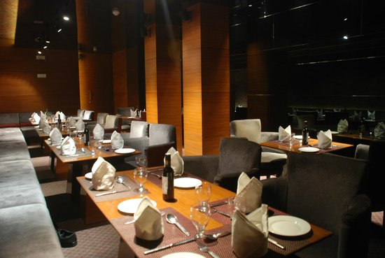 The Maya Hotel: MnM's has a naughty side. PDR to the fun and energetic diner with a tucked away private dining r