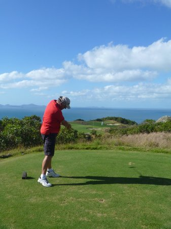 Hamilton Island Golf Club: Does your tee look like this?