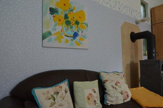 Apartmenthaus Potsdam-Quartett: Wohnbereich Gartensuite