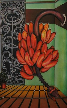 Suresh Panicker: Pastels on paper