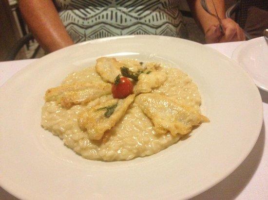 Terrazza Metropole : Risotto with bream