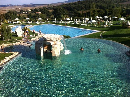 Area Relax Picture Of Adler Spa Resort Thermae Bagno Vignoni