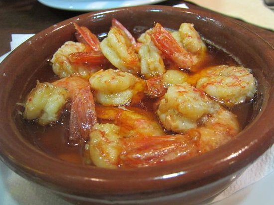 Restaurante xorus en barcelona con cocina tapas - Cocina con sara paella ...