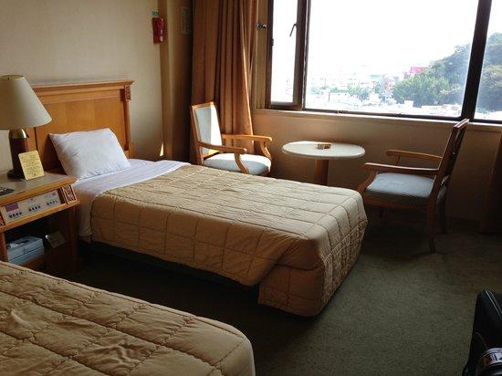 Busan Kukje Hotel: ツインのお部屋