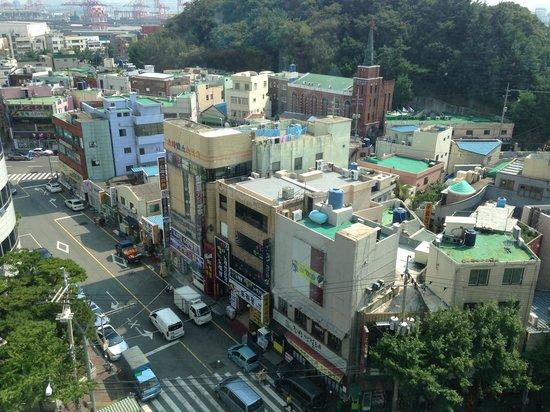 Busan Kukje Hotel: 部屋からの眺め