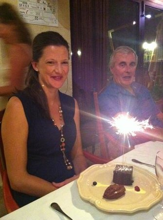 Le Fourneau de Clelia : We celebrated my wife's birthday at this restaurant with family and friends. Sept 2013 - Excelle