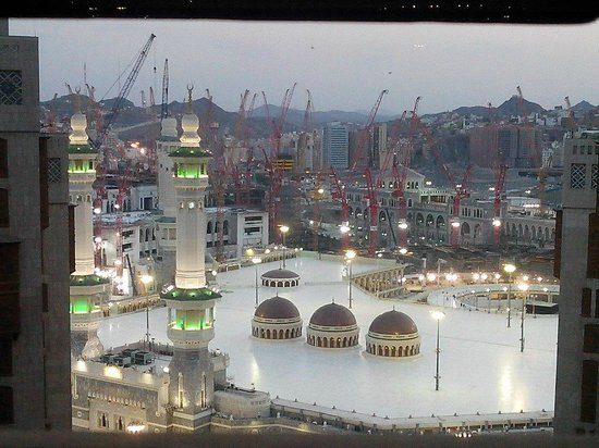 Haram Aerial View After Fajar Picture Of Makkah Hotel Mecca Tripadvisor