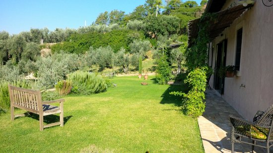 Podere Chiusa della Vasca: La pace del giardino