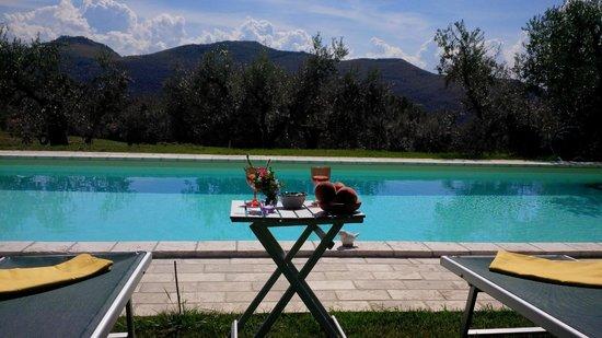 Podere Chiusa della Vasca: Relax in piscina