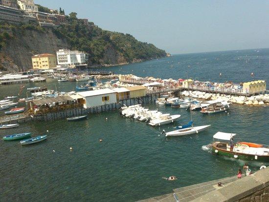 Hotel del Mare: Vista Panoramica Di Marina Grande