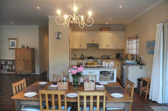 Acorn Lodge : Open-plan dining/kitchen area