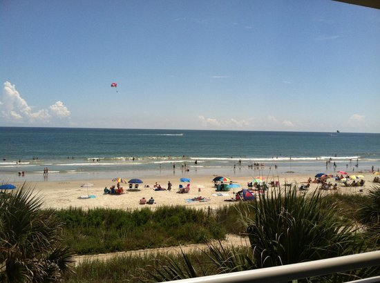 Best Western Plus Grand Strand Inn & Suites: View from our balcony.