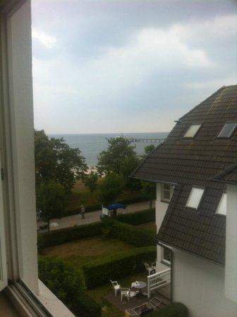 Strandhotel Binz: Toller Blick aus dem Zimmer