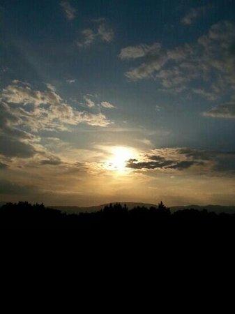 Albergo Paradiso : Tramonto visto dalla mia camera