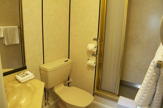 Fountain City Motor Inn: Clean bathroom