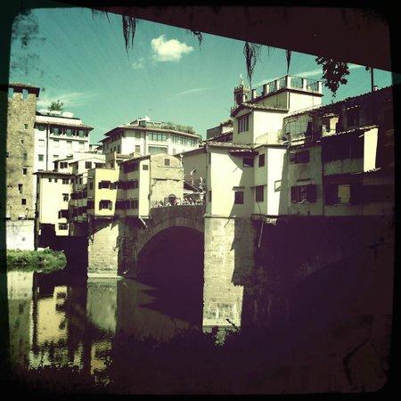 PK PaniniK: View of the Ponte Vecchio from PK