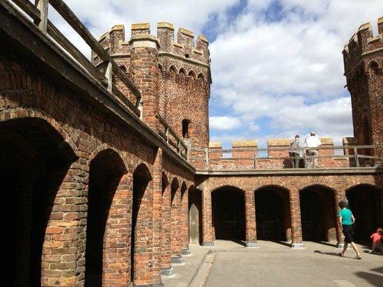 Tattershall castle - top floor