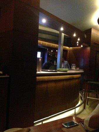 Coriander Leaf: The bar area