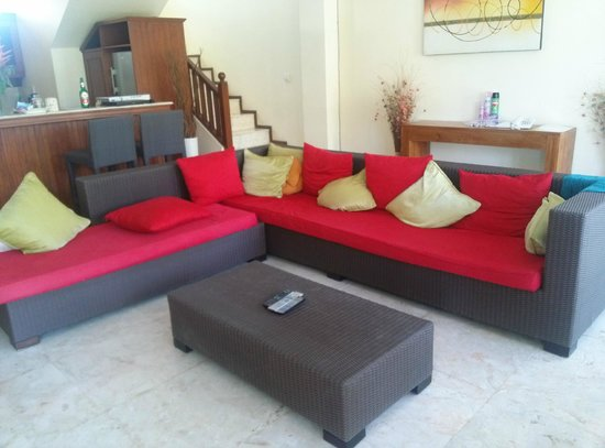 Bali Diamond Villas : living area
