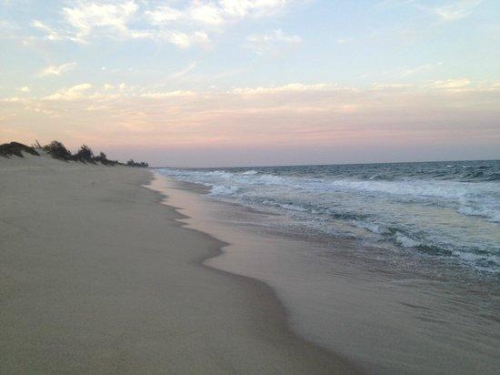 Praia de Peixe: Miles of Beach