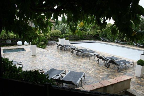 Hotel du Chateau : piscine sans vis à vis