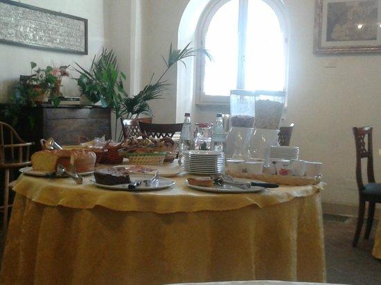 La Locanda del Borgo : Buffet della colazione