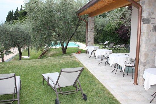 B&B Colle San Giorgio: Blick in den Garten