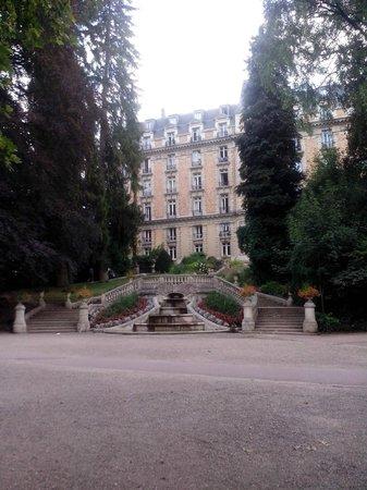 Club Med Vittel le Parc : Côté parc