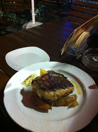 Zum Englischen Reiter : piatto di carne ripiena