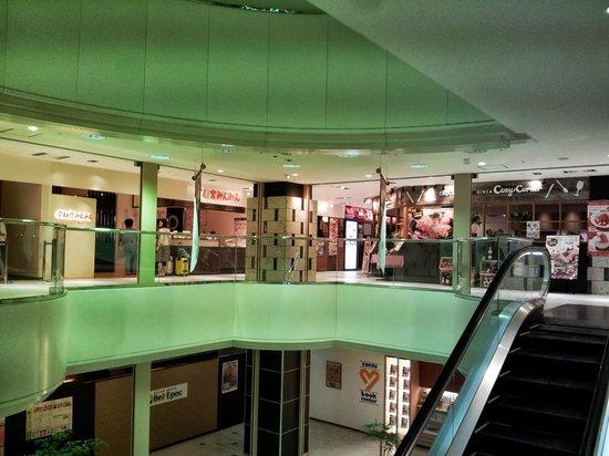 Hotel R-Mets Utsunomiya : 飯店3F的餐廳(價位都很親民)