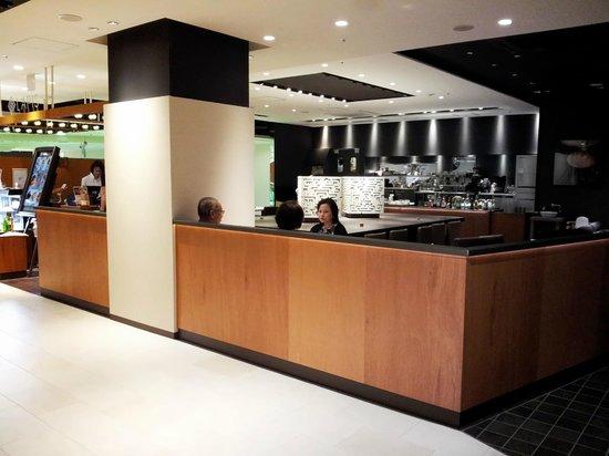 Hotel R-Mets Utsunomiya : LOUNGE BAR兼早餐用餐處